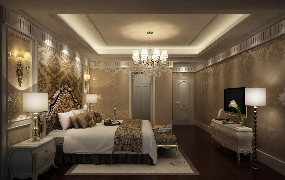 卧室图片来自广州名雕装饰在追求空间的连续性和形体的层次感的分享