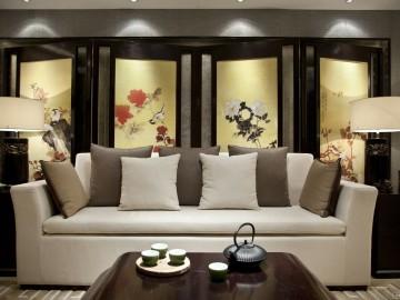 卓锦城  中式 鸟语茶香