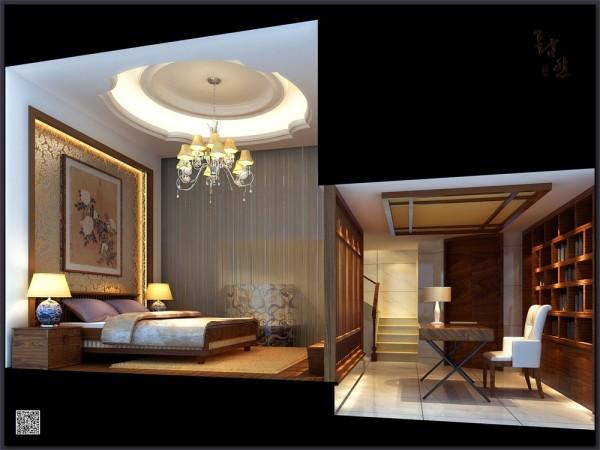 卧室和书房
