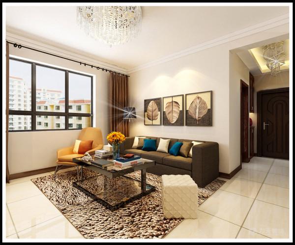 本案为华润橡树湾高层标准层户型3室2厅1卫1厨90.5㎡的户型。这次的设计风格定义为现代简约风格。