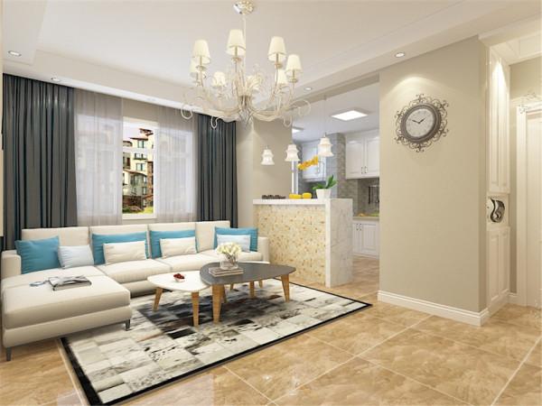 本次案例设计的风格是现代风格。考虑到此次户型用作婚房使用,业主的年龄也比较年轻,因此在后期的设计上色调比较大胆,色彩偏向年轻一些。