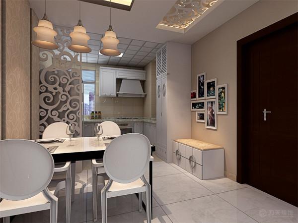 本户型设计成现代的简约的设计风格,这种风格既简单又实用,符合业主的需求,首先在整体的造型上以800*800的地砖作为铺装。