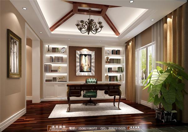 悠山郡书房细节效果图----高度国际装饰设计