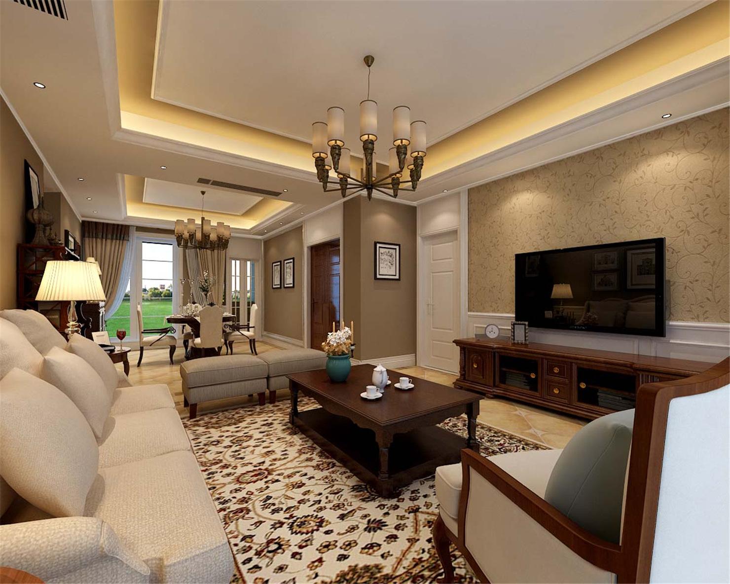 古北大城公 装修设计 简约欧式 腾龙设计 季蓓菁作品 客厅图片来自腾龙设计在古北大成公寓装修简约欧式风格的分享