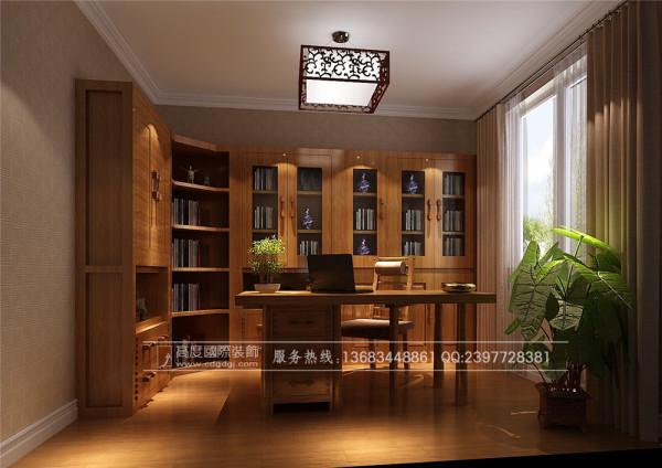 【高清】新中式风格 四海逸家怎么装修 成都高度国际 书房