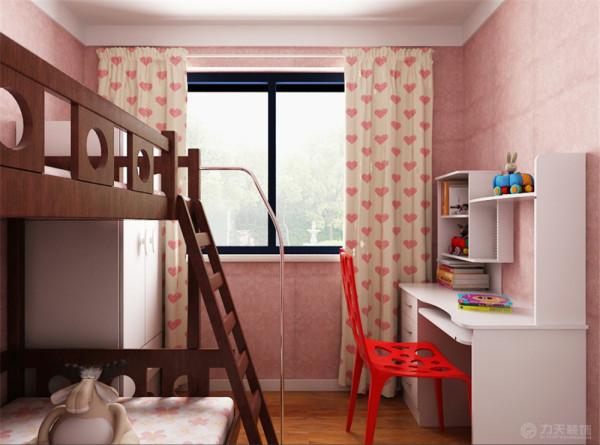 木色家具配以现代壁纸来搭配。现代中式风格虽然在设计中不拘一格,运用多种体例,但设计中仍然是匠心独具,深入推敲形体、色彩、材质等方面的总体构图和视觉效果。