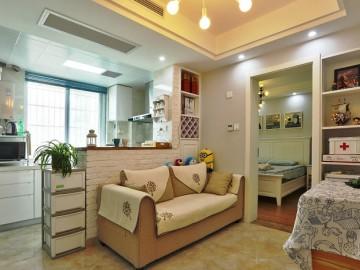 一室一厅气质小窝尽显温暖舒适