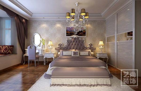 检察院家属院装修180平方四室两厅简欧风格样板间客厅装修效果图