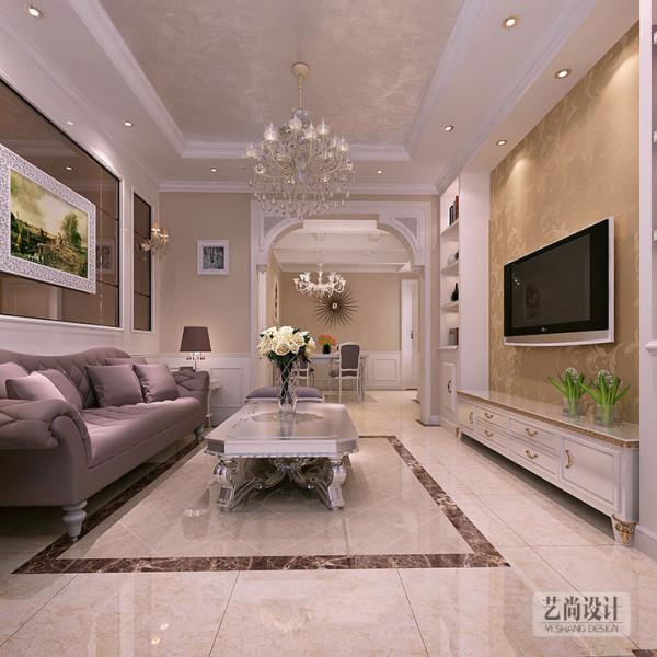 正商新蓝钻90平方二室二厅装修效果图