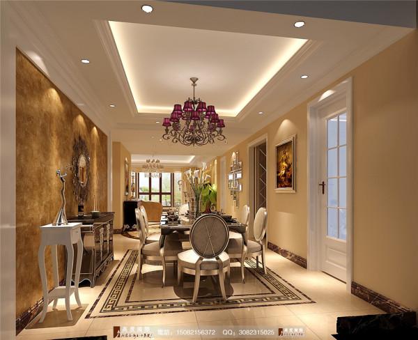中海九号公馆餐厅细节效果图----成都高度国际装饰
