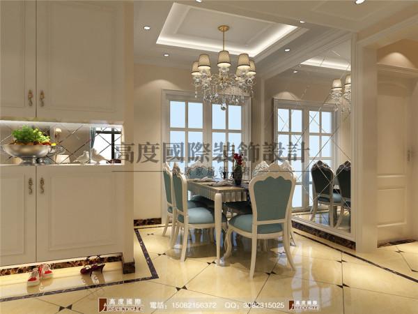 汇锦城餐厅细节效果图---高度国际装饰设计