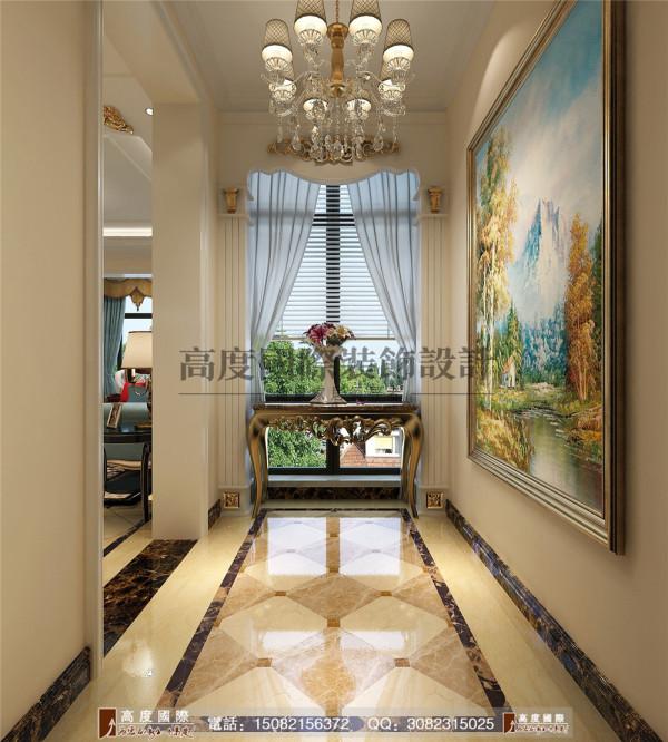 汇锦城门厅细节效果图---高度国际装饰设计