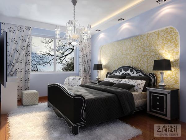 财信圣提亚纳2室2厅装修方案---卧室装修效果图
