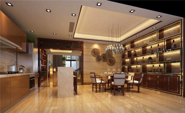 简单而适用的雕花门把前台大厅与洽谈区及其他功能分区和谐的区分开来,而顶部的设计再次突出了空间的功能性,而壁画的选择却为房间的设计增加了几分优雅!