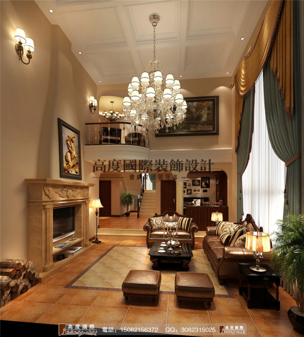 锦丽园客厅细节效果图----成都高度国际装饰设计