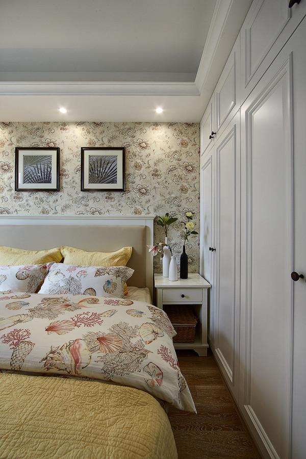 二居 简约 美式 小资 混搭 卧室图片来自佰辰生活装饰在89平简美温馨图片