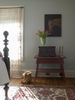 欧式 小清新 两居 卧室图片来自北京精诚兴业装饰公司在简欧小清新的分享