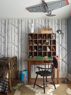 欧式 小清新 两居 书房图片来自北京精诚兴业装饰公司在简欧小清新的分享