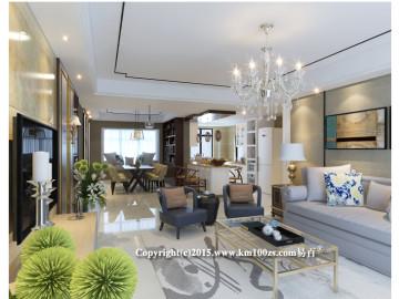 龙湖水晶郦城现代风格