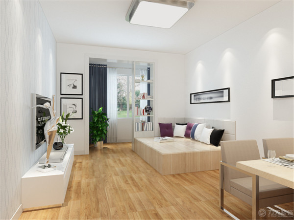 本方案是御溪苑1室1厅1厨1卫74㎡和小户型。本方案用了现代简约的风格特点来设计,简约的风格还是比较适合小户型的,比较繁琐的装饰反而会让谁整个空间显得局促和拥挤。