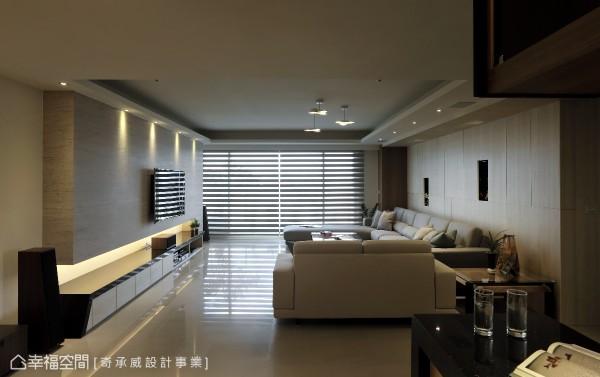 欧式沙发背墙效果图2017款