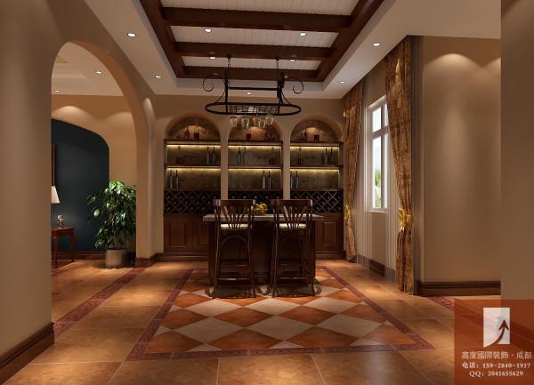 托斯卡纳风格  高度国际 地下酒吧