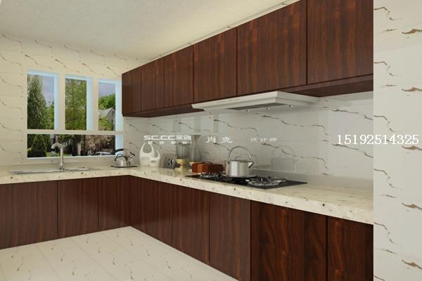 太阳岛新中式厨房