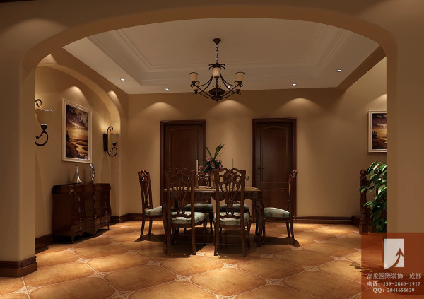 托斯卡纳风格  高度国际 餐厅