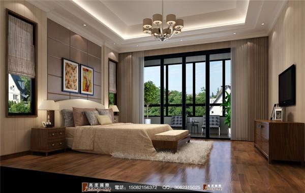 恒大金碧天下卧室细节效果图---高度国际装饰