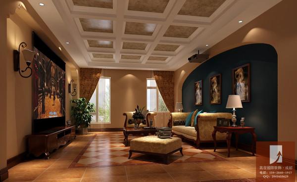 托斯卡纳风格  高度国际 地下室