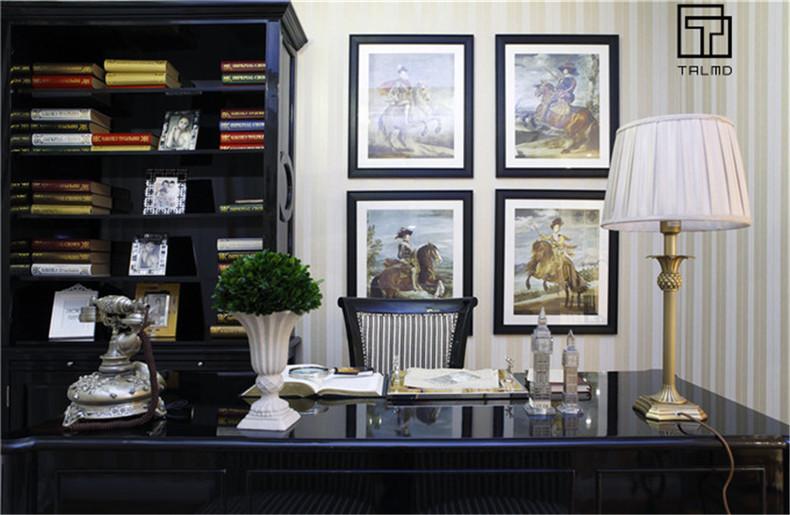 三居 家具定制 新古典 书房图片来自TALMD图迈家居在【TALMD案例】新古典·桂林彰泰的分享