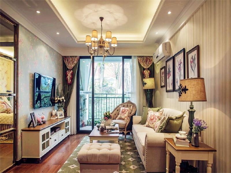 众意装饰 美式 三居 客厅图片来自众意装饰在保 利 茉 莉 公 馆的分享
