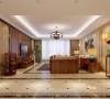 我们使用带有中式风格的家居,运用了大量欧式风格的饰品。 屋内多加一些欧洲化的点缀,在整个空间多了一份华丽。