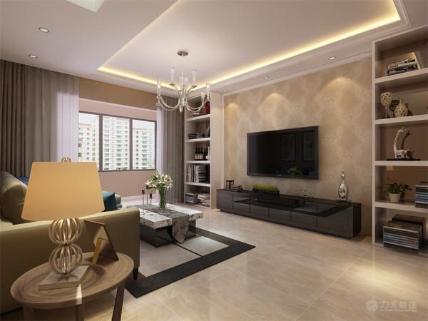 本户是一对老年夫妇居住所以尽量的回避了白色和黑色的选择,主要以暖色系为主来设计