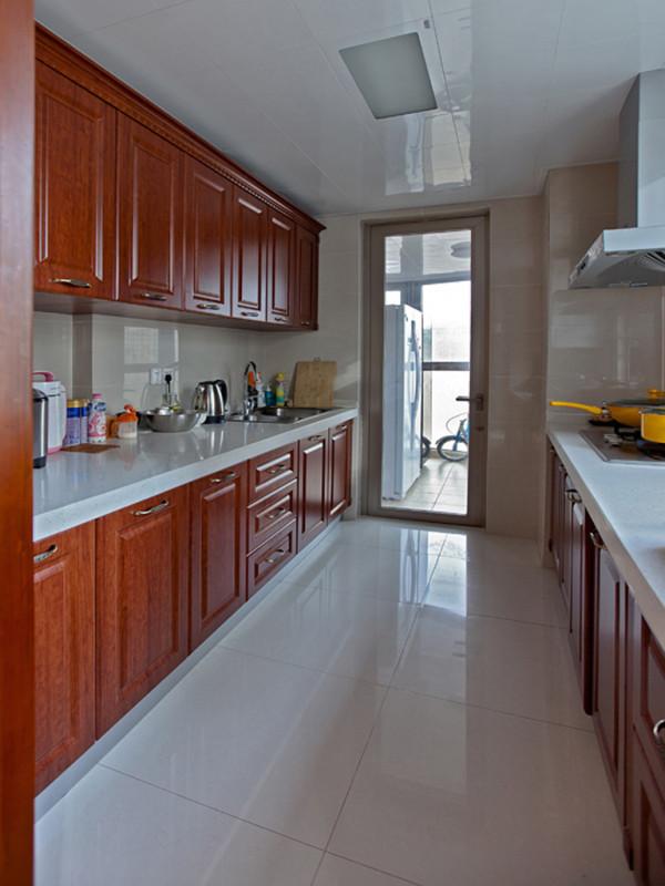 二居两居古典新中式紫金新干线厨房装修效果图片_装修