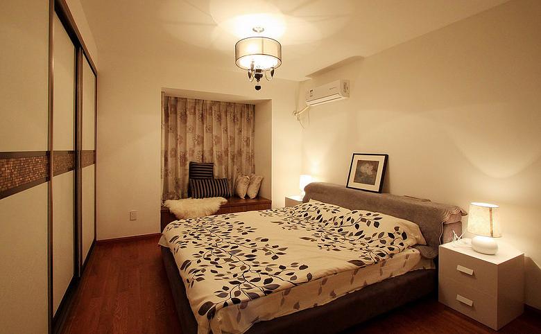 卧室图片来自家装大管家在素雅自然休闲 105平简约舒适3居的分享