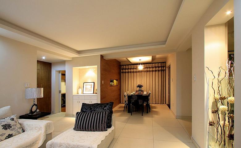 餐厅图片来自家装大管家在素雅自然休闲 105平简约舒适3居的分享