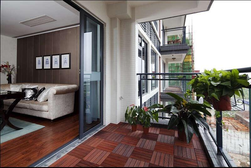 简约 欧式 美式 混搭 大户型 白领 80后 阳台图片来自成都V2装饰在美式混搭风格装修的分享