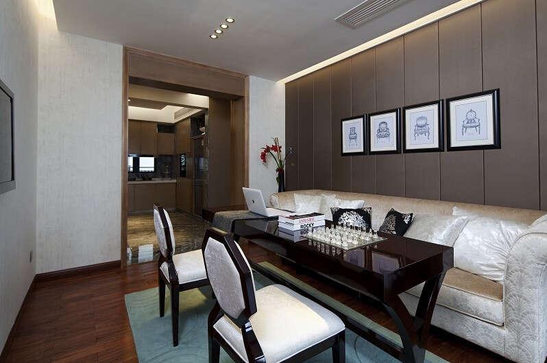 简约 欧式 美式 混搭 大户型 白领 80后 餐厅图片来自成都V2装饰在美式混搭风格装修的分享