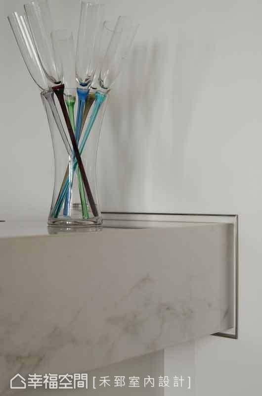 设计师陈弘芫透过带有设计感的对象,渲染整体空间的品味质感。
