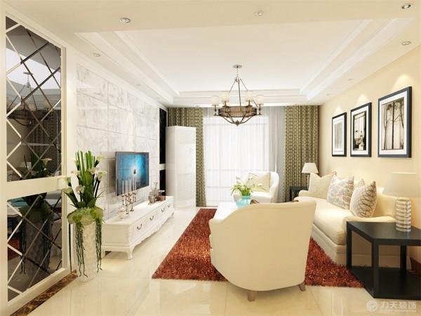 本案为武清花苑,三室二厅一厨一卫140㎡户型。本案风格定义为现代简约。现代简约是以简约为主的装修风格,将设计的元素、色彩、照明、原材料简化到最少的程度,让所有的细节看上去都是非常简洁的。