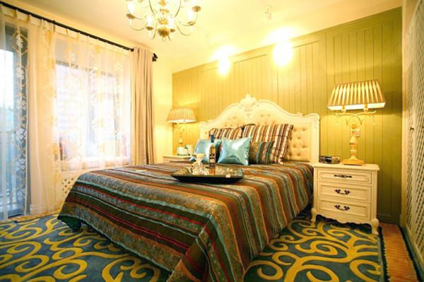 地中海风格 主卧室