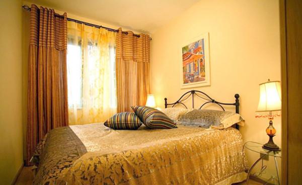 地中海风格 次卧室