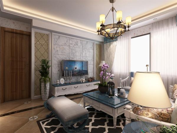 """本案定义为地中海风格,本方案采用的是地中海风格为设计的主题。""""地中海风格""""对中国城市家居的最大魅力,来自于纯美的色彩组合。"""