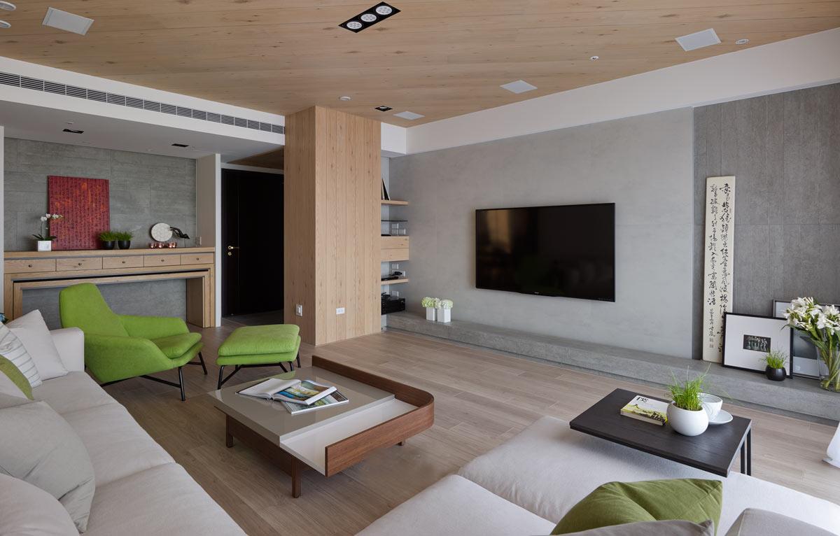 客厅图片来自今朝装饰小闫在原木质简约风格的分享