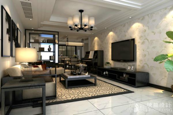 保利茉莉公馆250平别墅装修设计新欧式风格设计参考方案展示,腾龙设计师祝炯作品欢迎品鉴!