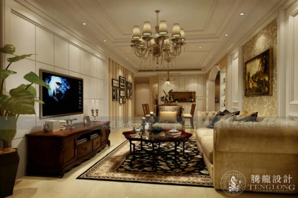 金轩大邸150平户型装修设计欧式风格,聚通集团腾龙设计师祝炯作品,欢迎品鉴!