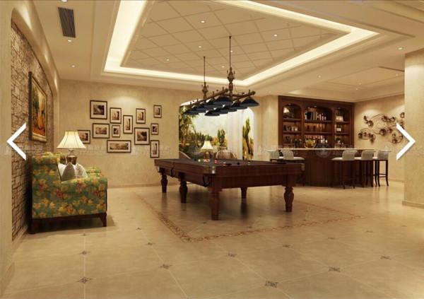 华贸东滩花园370平别墅装修简约美式风格设计方案展示,腾龙设计师祝炯作品,欢迎品鉴!