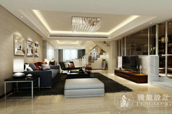 盛大家园150平复式户型装修设计方案展示,腾龙设计师祝炯作品,欢迎品鉴!