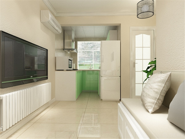 本次的设计风格是现代简约。房间总体来说面积不算大,设计的也比较简单,但是看上去很大方。